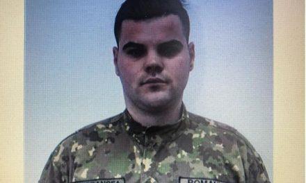 Un tânăr militar are nevoie urgentă de ajutor. Bolnav de cancer, trebuie ajutat să continue tratamentul