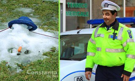 Polițist local, sătul să stea degeaba. Investighează dispariția unui om de zăpadă