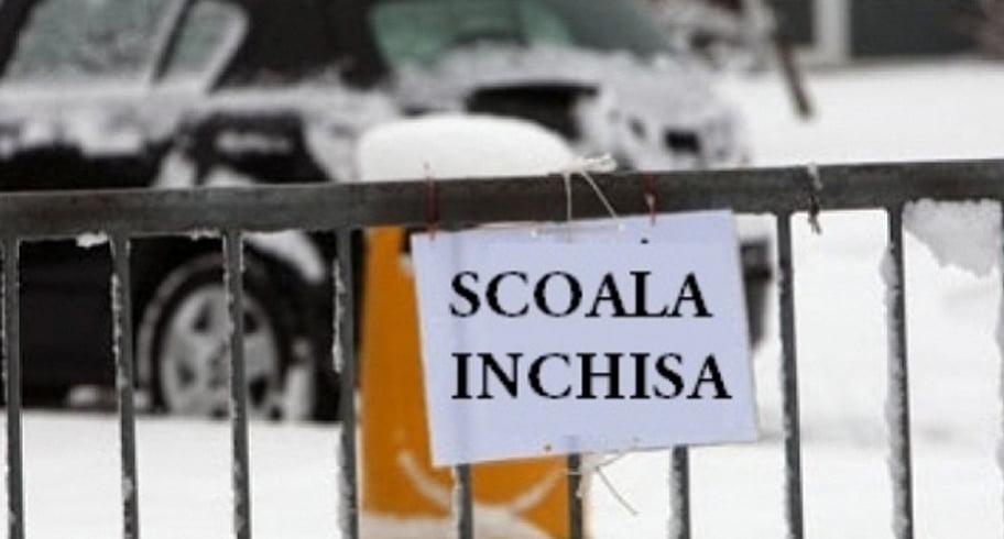 Şcolile şi grădiniţele din 46 de localităţi din judeţul Constanţa au fost închise