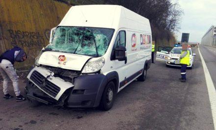 Accident între un TIR și o autoutilitară pe A2, la Cernavodă