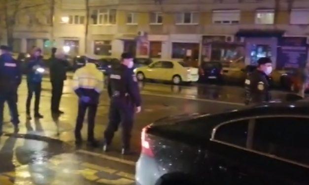 Poliţiştii au amendat 63 de constănţeni, care au ieşit pe străzi după ora 22.00
