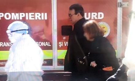 Deși confirmat cu coronavirus, Vergil Chițac a fost adus la spital FĂRĂ izoletă sau protecție