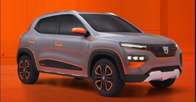 FOTO VIDEO / Cum arată Dacia Spring, model 100% electric. Prețul – 11.500 euro