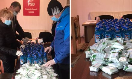 Ireal! PSD Lumina face campanie electorală cu spirt şi săpun. Au golit rafturile, împart produsele şi se laudă pe Facebook