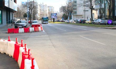 Apare un nou sens giratoriu în Constanța, pe bulevardul Mamaia