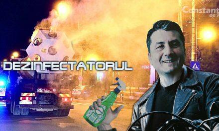 Primăria lansează Dezinfectatorul. Un film cu toate filmuleţele despre dezinfecţia din Constanţa