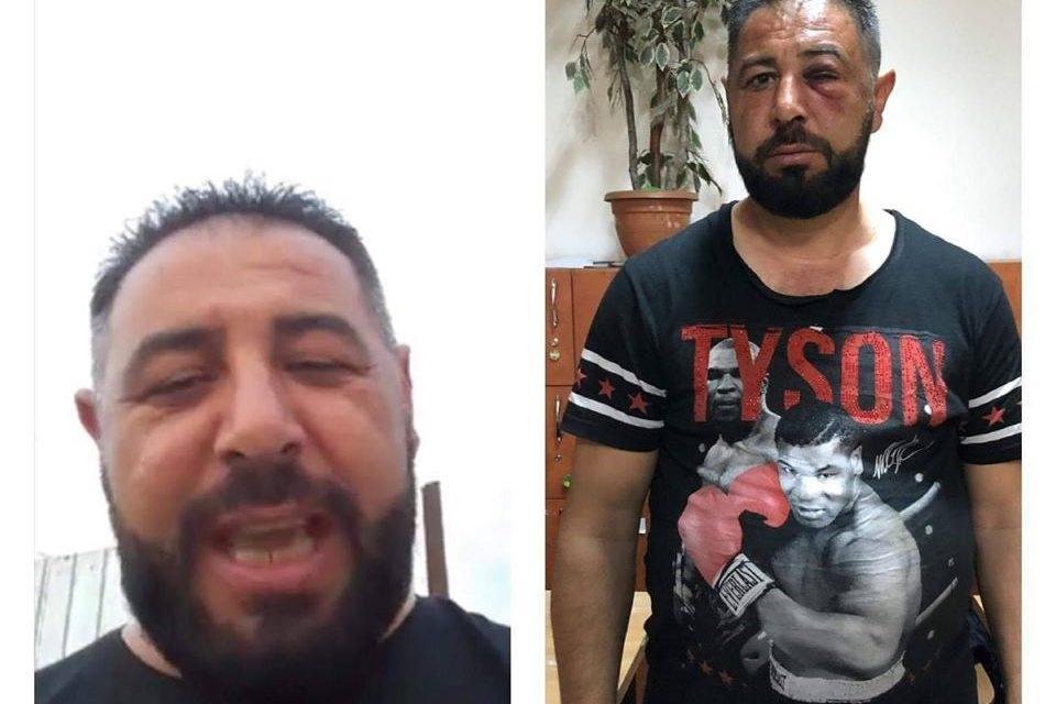 """VIDEO / Spartacus Idolul Fetelor, mesaj pentru polițiști după ce a ieșit din mâna """"mascaților"""""""