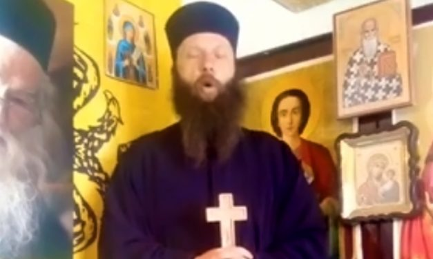VIDEO. Un călugăr se dezlănţuie pe internet: A început să vă fie frică de coronavirus mai ceva ca de dracu'