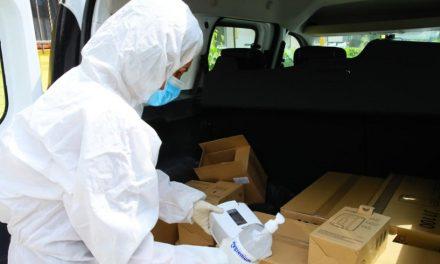 Primăria Constanţa anunţă că a distribuit dezinfectanţi şi covoraşe pentru peste 4.000 de scări de bloc