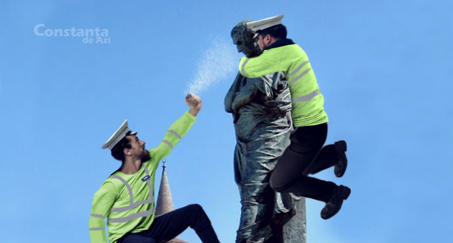 Poliţiştii locali au imobilizat un bărbat care nu avea declaraţie pe proprie răspundere