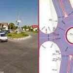 Primăria Lumina a eliberat autorizația de construire a sensului giratoriu de pe DN22