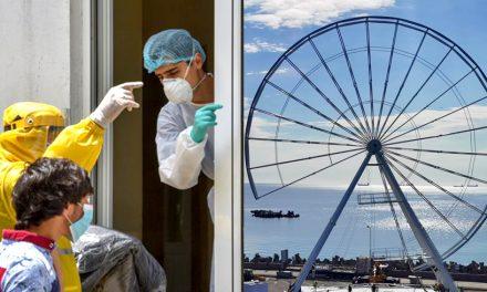 """Cinci noi cazuri de infectări cu COVID-19 în Primărie. Făgădău pune poză cu """"roata ca la Londra"""""""