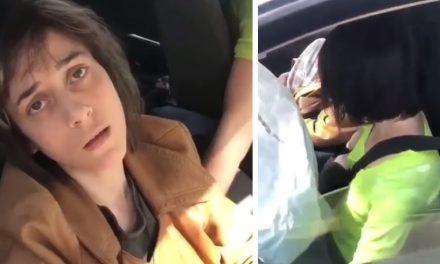 """VIDEO. Accident provocat de o tânără drogată la volan. """"Nu sunați nicăieri. Plecăm în trei minute"""""""
