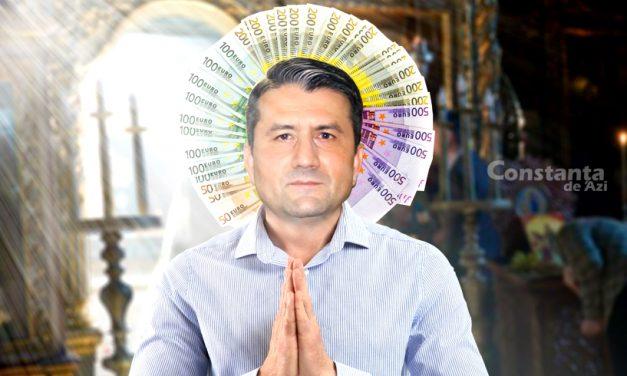 Primarul Făgădău vrea să cheltuiască 120.000 de euro din banii publici pentru biserici