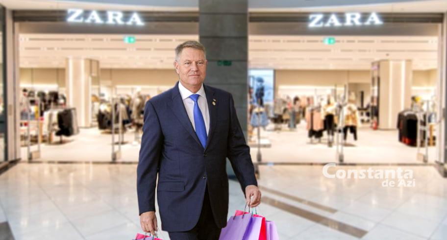 Iohannis, declarație șoc: Cine nu merge luni la mall, ori e sărăkie, ori e prost