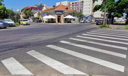 Două noi treceri de pietoni vor fi trasate pe străzi cu risc ridicat de accidente rutiere