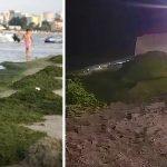 VIDEO. Sute de tone de alge aduse la mal pe litoral. ABADL intervine cu utilaje