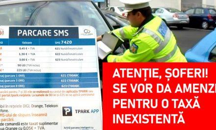 Haiducie de Constanța! Șoferii vor fi amendați pentru neplata unei taxe de parcare care nu există