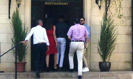 VIDEO. Eveniment cu peste 20 de persoane la un restaurant din Constanța. Polițiștii au amendat persoana care a făcut sesizarea
