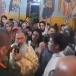 VIDEO. Peste 50 de persoane înghesuite în biserică la o slujbă oficiată de ÎPS Teodosie la Suceava. Nimeni nu purta mască!