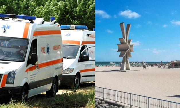 Ambulanțe trimise de urgență la Costinești după 30 de tineri din Vaslui, bolnavi și suspecți COVID-19