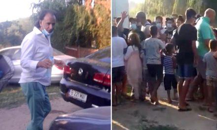 VIDEO. Dosar penal pe numele lui Murad, după ce a împărțit pachete alegătorilor