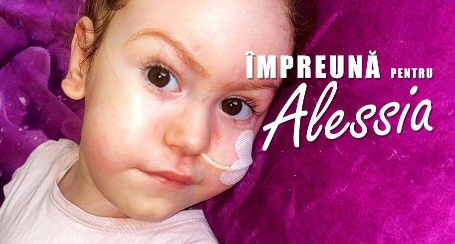 Se caută volunari la Târgul Umanitar dedicat Alessiei. Pentru a trăi, fetița are nevoie de cel mai scump medicament din lume