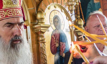 VIDEO. Preaslăvire electorală. Teodosie îl laudă în biserică pe primarul PSD din Agigea, Cristian Cîrjaliu