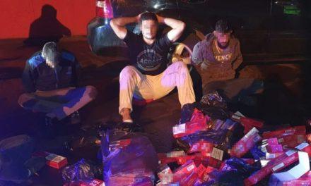 Patru contrabandiști de țigări, prinși cu focuri de armă în Portul Constanța