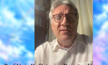 VIDEO emoționat! Dr. Octavian Unc, poezie despre speranță și unitate în fața COVID