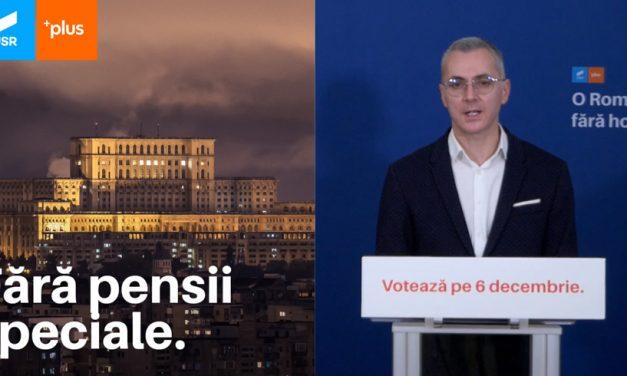 Stelian Ion: Parlamentul a devenit paravan pentru tot felul de personaje care s-au ascuns pentru a scăpa de justiție. Vom elimina pensiile speciale și pe cele pentru aleșii locali