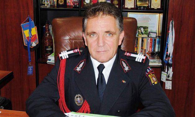 Comandantul ISU Dobrogea, col. Gheorghe Popa, a murit de COVID