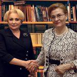 """Dăncilă și Grapini lansează cartea """"Copi și Paste. Rețete de succesuri"""""""