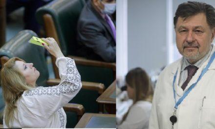 """Confruntare TV între Rafila și Șușoacă: """"Sunt mai inteligentă decât alții"""". Rafila: """"Se vede de la distanță"""""""