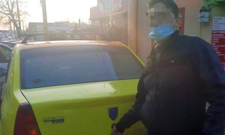 Taximetrist pirat din Constanța, amendat cu 2.000 de lei de polițiștii locali
