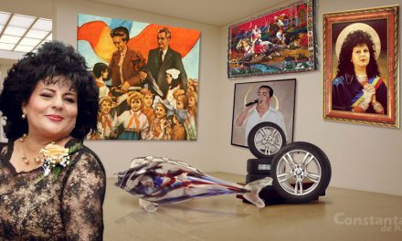 """Ca să-i dea o lecție lui Clotilde, o primăriță PSD a făcut și ea o expoziție de artă. """"Avem bibelouri, tablouri cu tovarăși și genți de BMW"""""""