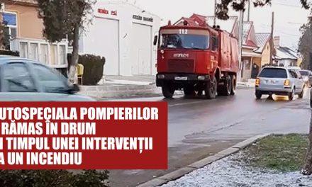 VIDEO. Autospecială ISU Dobrogea, defectată în timpul unei intervenții, cu o zi înainte de tragedia de pe bulevardul Mamaia