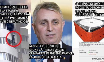După tragedia de la Constanța, MAI vrea să ia perne pneumatice cu 40.000 de euro bucata, în timp ce nemții le cumpără cu doar 8.700 euro
