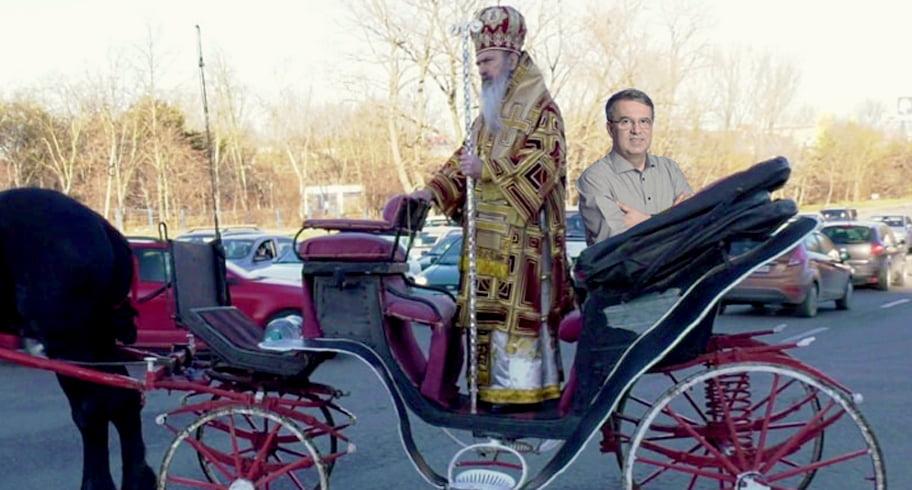 Teodosie i-a ordonat lui Chițac să facă parcări de căruțe și mini grajduri cu fân în tot orașul