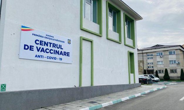 Centrul de vaccinare de la Năvodari, operațional din 15 martie