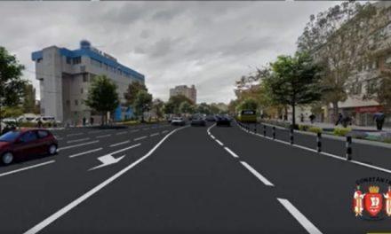 Încep lucrările de modernizare a b-dului Lăpușeanu! Ce se întâmplă însă cu cele 1200 locuri de parcare desființate?