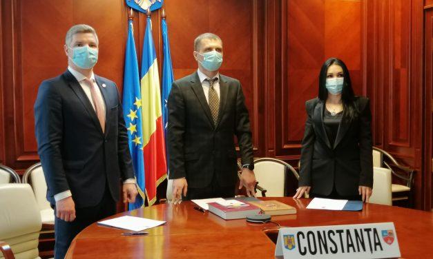 Constanța are doi noi subprefecți: Secyl Suliman și Mihai Vîlcu