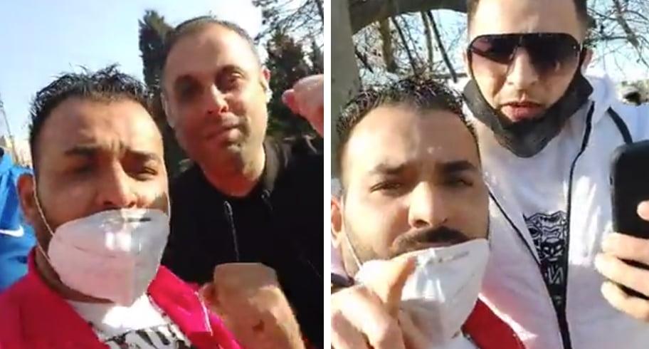 """VIDEO. Mesajul unor protestatari de la Prefectură pentru constănțeni: """"Care nu vine, mă-sa-i curvă!"""""""