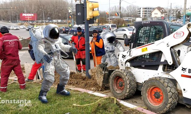 Echipă NASA la Constanța pentru a afla cum a fost reparat semaforul de pe Tomis în doar 10 zile