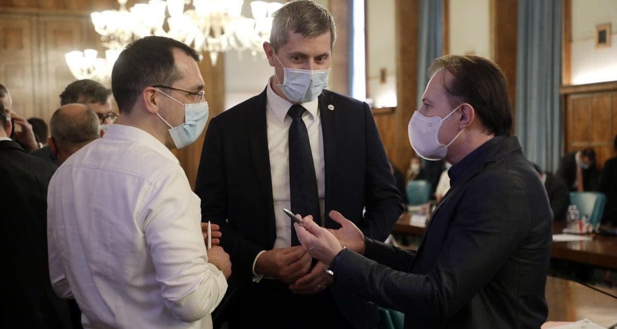 Cîțu îl demite pe ministrul Sănătății, Vlad Voiculescu. USR-PLUS amenință cu ruperea coaliției