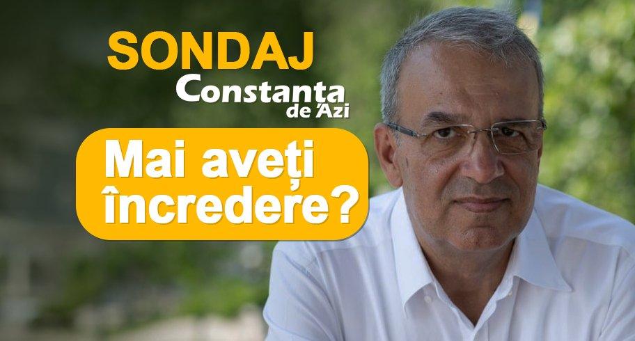 Sondaj CdA. Mai aveți încredere în primarul Vergil Chițac? Vă invităm să răspundeți