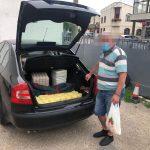 Poliția locală, captură în Piața Tomis III: cașcaval vândut de un producător. De  romi și speculanți când se atinge?