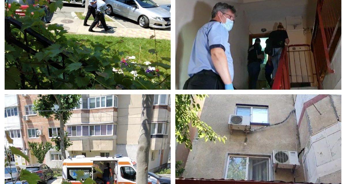 Copil de doi ani găsit în putrefacție într-o locuință din Cernavodă. Mama a vrut să fugă când i-a văzut pe polițiști