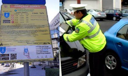 Parcarea cu plată în Constanța intră în vigoare de vineri, 18 iunie. Plata se face prin sms (doar Orange și Vodafone) sau taloane răzuibile