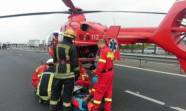 Accident grav pe A2, dinspre Constanța spre București. Copil de 1 an proiectat prin parbriz